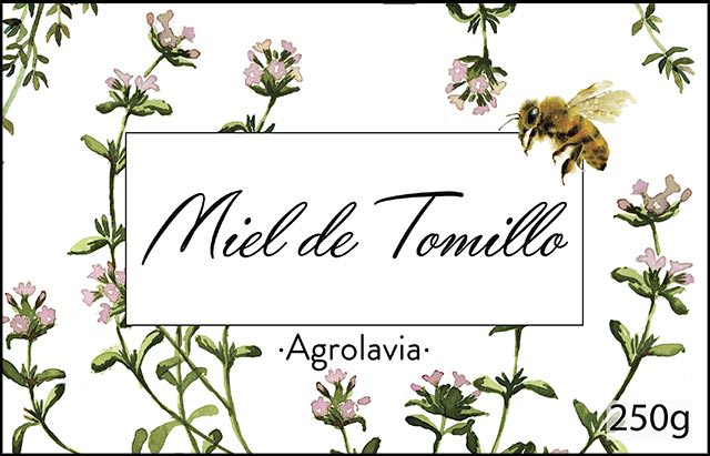 Agrolavia organic honey